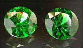 DEMANTOID PAIR (Russia) - 1.25 ct. T.W. (All uses; N)