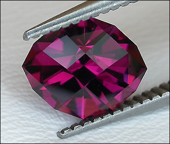 AMERICAN PRECISION CUT ROYAL RHODOLITE GARNET (ASIA) – 1.37 CT.