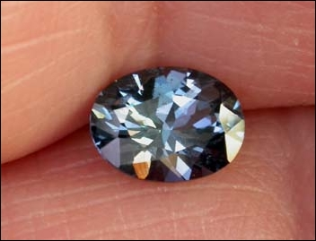 SPINEL, BLUE (Africa) -- .98 CT. -- VIDEO